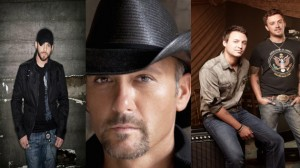 Tim McGraw, Brantley Gilbert & Love and Theft  first niagara pavilion