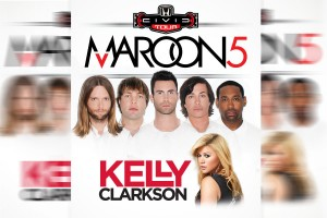 Maroon 5, Kelly Clarkson and Rozzi Crane-First Niagara Pavilion