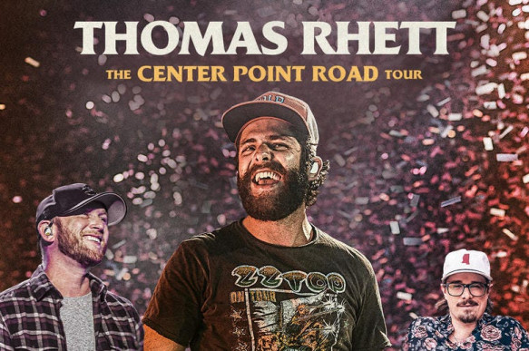 Thomas Rhett and Cole Swindell